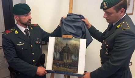 Mafia napolitane ka vjedhur pikturat e famshme të Van Gogh