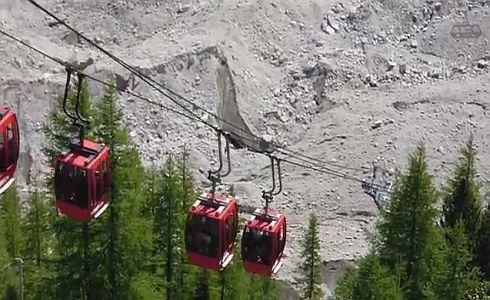 60 turistë janë bllokuar në teleferik në Alpet franceze
