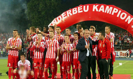 UEFA: Skënderbeu trukoi mbi 50 ndeshje futbolli