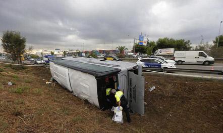 Dhjetëra të lënduar në një aksident trafiku në Spanjë