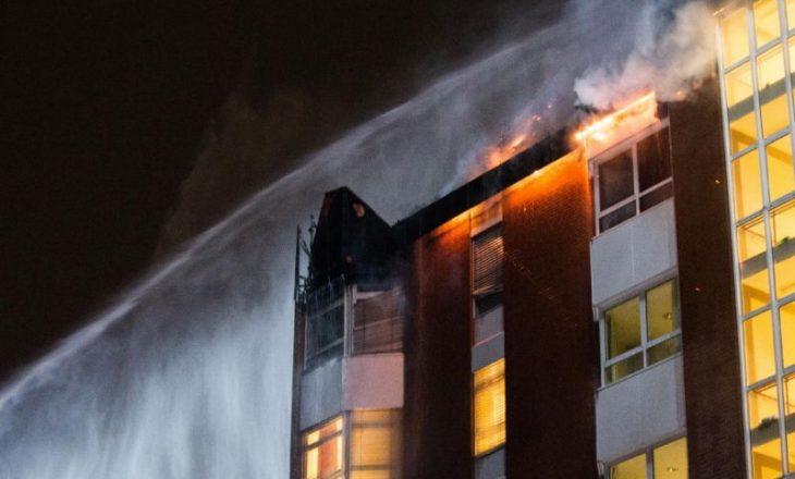 Dy të vdekur e 15 të lënduar nga zjarri në një spital në Gjermani
