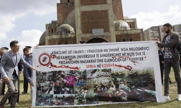 Studentët: Kisha të kthehet në muze dhe të prezantohen masakrat serbe