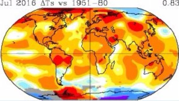 NASA: Toka, asnjëherë kaq e ngrohtë në 1.000 vitet e fundit
