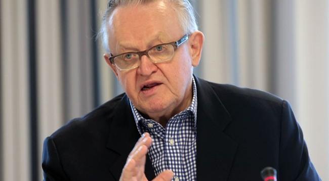 Del në shitje libri autobiografik i Ahtisaarit, aty flitet edhe për Kosovën