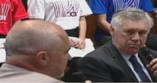 Ancelotti zbarkon në Tiranë – flet për Shqipërinë e De Biasin