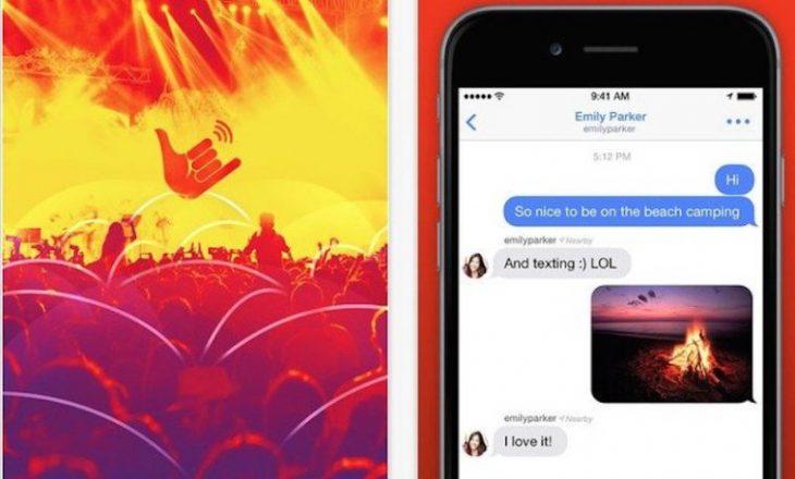 Aplikacioni i komunikimit që funksionon pa rrjet Wi-Fi dhe celular