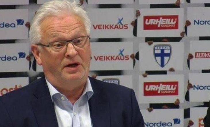 """Trajneri i Finlandës thotë se """"Kosova ishte e rrezikshme"""""""