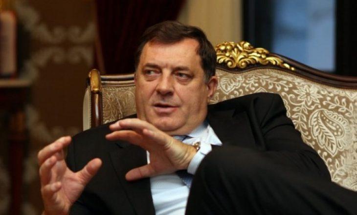 Presidenti i Bosnjes e krahason me Millosheviqin, Millorad Dodikun