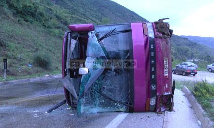 30 të lënduar nga aksidenti i autobusit të linjës Athinë-Tiranë