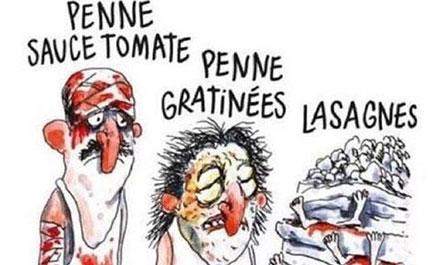 """Karikaturat e """"Charlie Hebdo"""" për tërmetin në Itali nxisin reagime"""