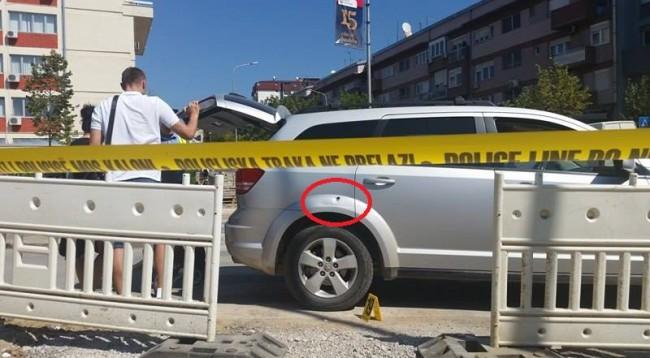 Qëllohet me plumb vetura e basketbollistit Edmond Azemit në incidentin afër Prokurorisë
