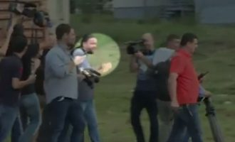 Gazetari serb provokon protestën e aktivistëve studentor
