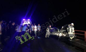 Aksidenti mes veturës dhe traktorit plot dru bllokon rrugën për Preshevë