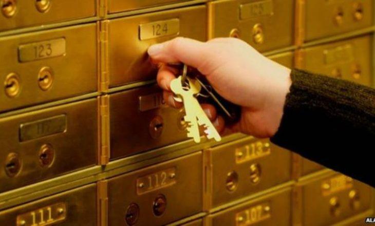 Thyhet kasaforta e një banke në Podujevë