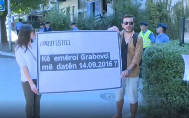 """#PROTESTOJ pyet prokurorinë """"Kë emëroi Grabovci me 14.09.2016"""""""