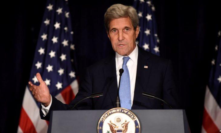 Kerry: Shumë afër pezullimit të bashkëpunimit me Rusinë në Siri