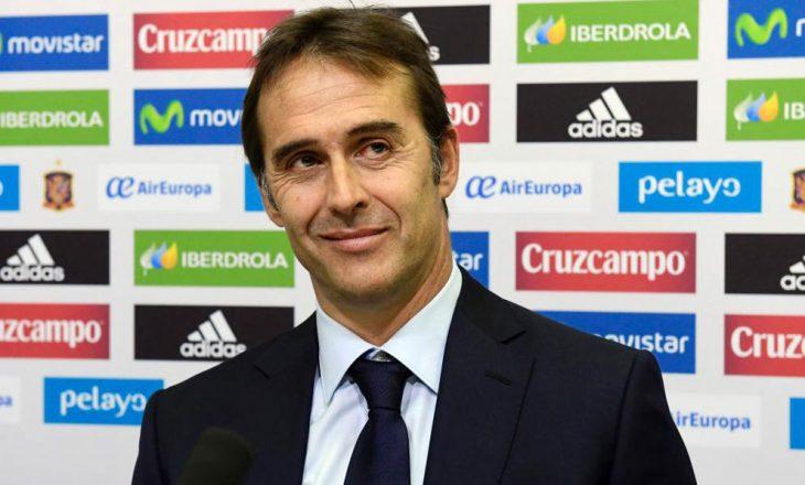 Trajneri i Spanjës i shqetësuar për terrenin në Shkodër