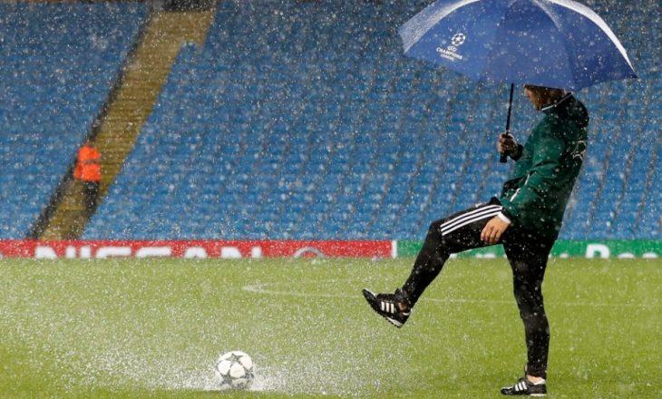 Zyrtare: Shtyhet ndeshja Manchester City – Monchengladbach