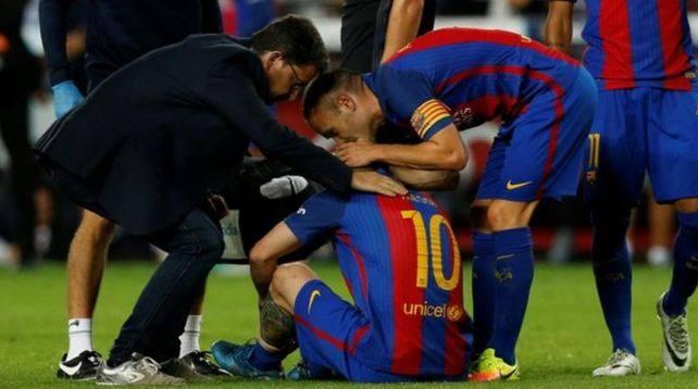 Barcelonës do t'i mungojë ylli i saj për tre javë