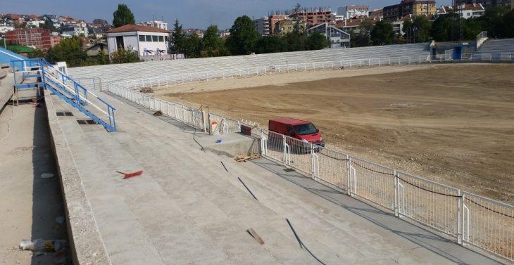 Ministria e Planifikimit Hapësinor urdhëron ndaljen e punimeve në stadiumin e Prishtinës
