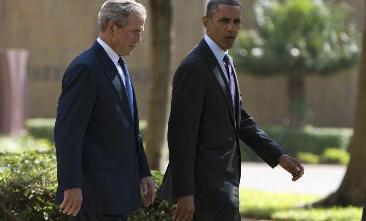 Bushit i nevojitet ndihmesa e Obamas që të bëjë një 'selfie'