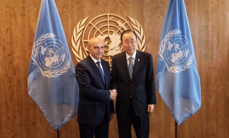 Kryeministri kërkon nga Ban Ki-moon vazhdimin e përkrahjes për Kosovën