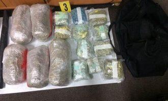 Policia konfiskon 35 kilogram marihuanë, arreston një person të dyshuar