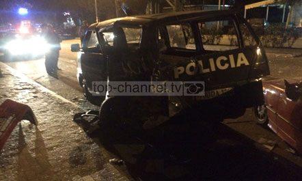 Një polic i vdekur dhe dy të plagosur nga aksidenti në Kamëz