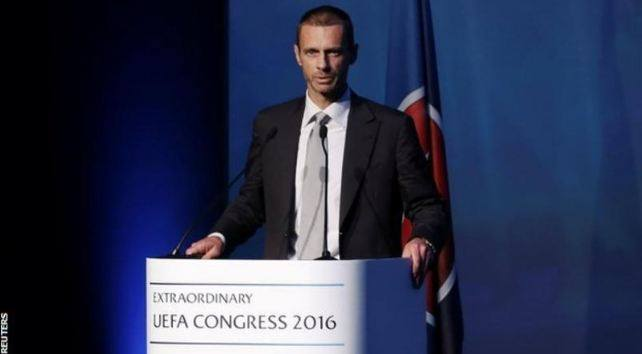 Aleksander Ceferin është zgjedhur presidenti i ri i UEFA-s