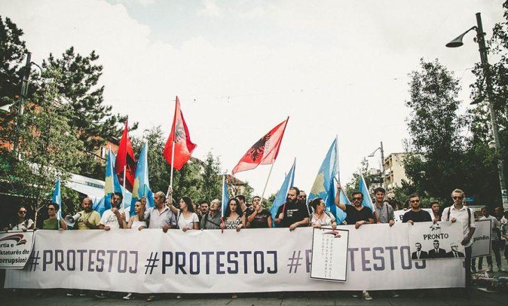 #PROTESTOJ marshon për të nëntën herë sot