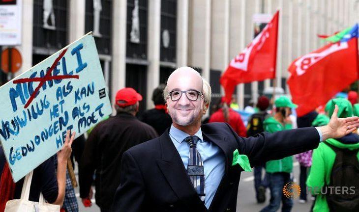 Në Belgjike u protestua kundër rritjes së orëve të punës