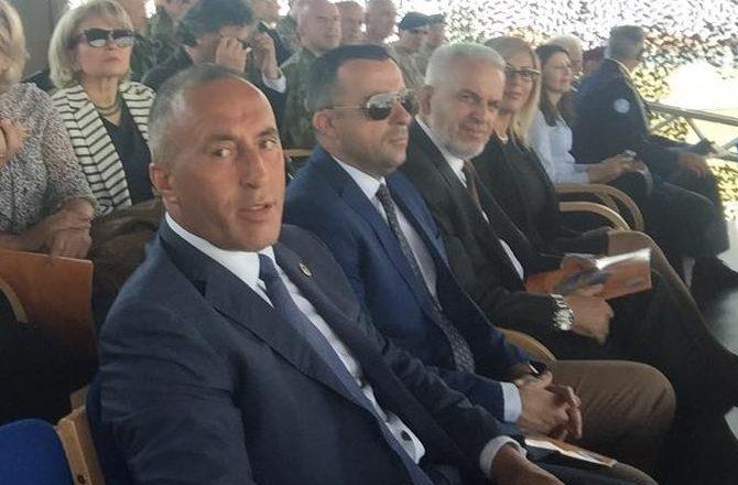 I akuzuari për terrorizëm në ceremoninë e KFOR-it