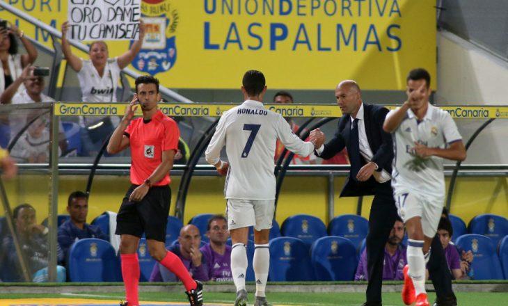Ronaldo, sherr me Zidane pas ndeshjes: Bir k****!