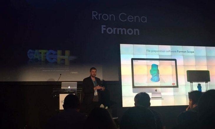 Formon3D shpallet fitues i çmimit të inovacionit në CATCH 2016