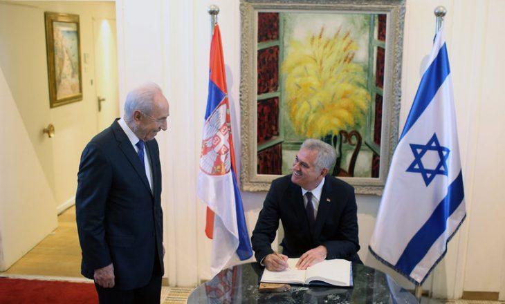 Nikoliq: Ish-presidenti Peres më garantoi se Izraeli s'do ta njoh kurrë Kosovën