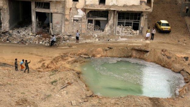 Bombardimet në Siri lënë pa ujë afër dy milionë banorë