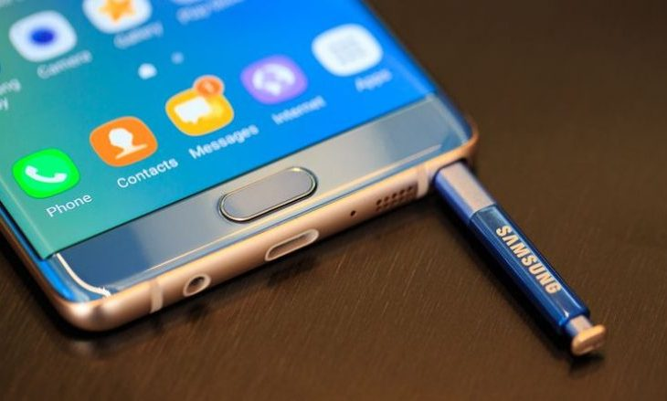 Samsung humb 1 miliard dollar nga tërheqja e Note 7