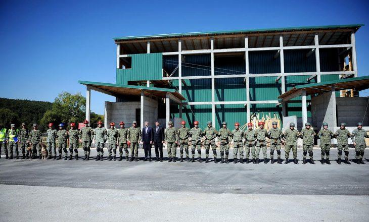 Thaçi: FSK është ushtria e ardhshme e Kosovës