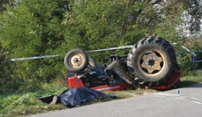 Vdes një 62 vjeçar pas rrokullisjes së traktorit në Shtërpcë