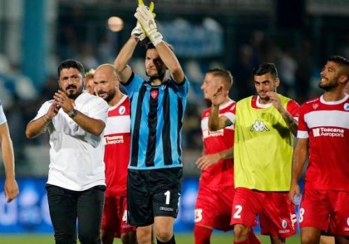 Kapiteni i Kosovës e mban të paprekur portën e skuadrës së Gattuso-s