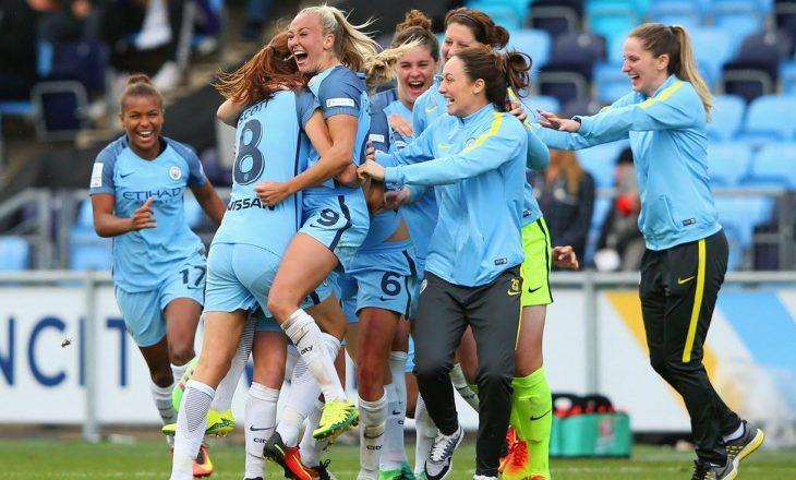 Kosovare Asllani fiton titullin e kampiones me Manchester Cityn