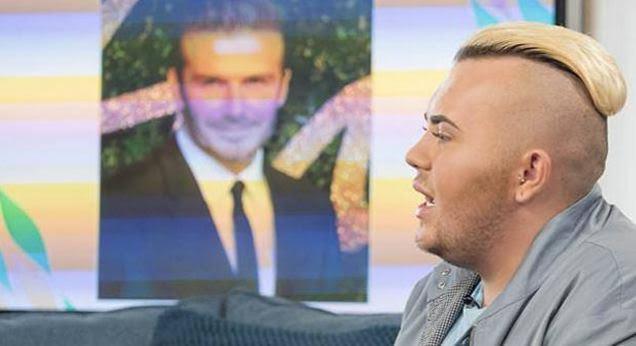 Shpenzon 23 mijë euro për t'u bërë si David Beckham