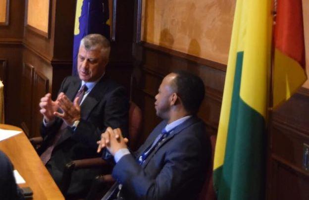 Thaçi në Kanada, fton kryeministrin e Guineas të vizitojë Kosovën