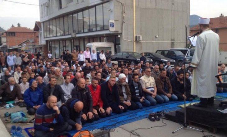 Forca të shtuara të policisë gjatë faljes së Kurban Bajramit në veri