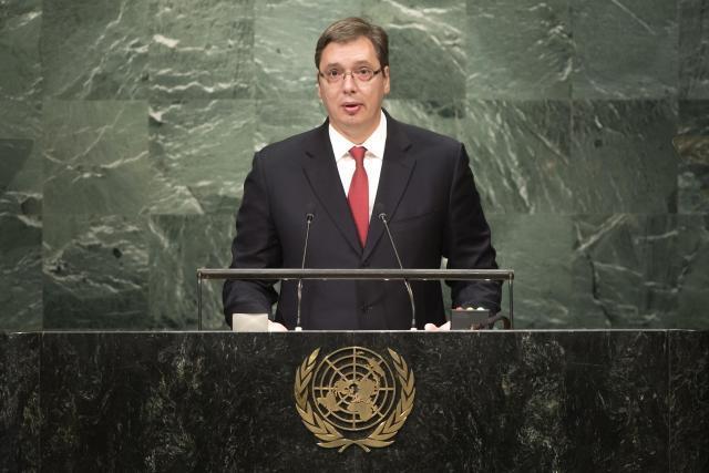 Vuçiq në fjalimin e tij në OKB: Serbia është shtyllë e stabilitetit në Ballkan