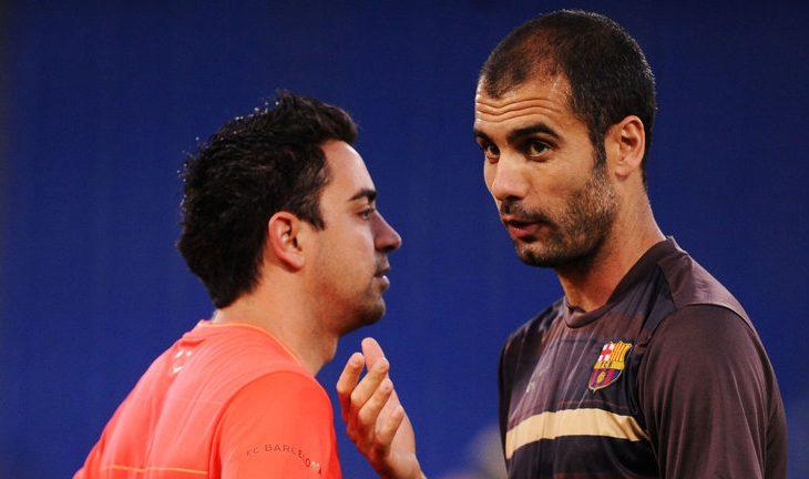 Xavi i bindur se Guardiola do të fitojë disa trofe këtë stinor