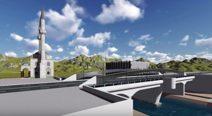 Mitrovicasit kërkojnë ndërtimin e një xhamie afër Urës së Ibrit