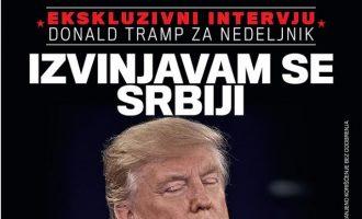 Donald Trump mohon t'i ketë kërkuar falje Serbisë
