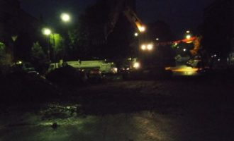 Largohet barrikada e mbetur në Veri të Mitrovicës