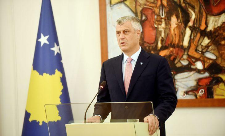 Thaçi: FSK do të bëhet ushtri, Beogradi nuk vendosë për Kosovën